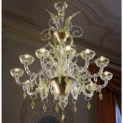 Specials & Contracts Murano glass chandeliers